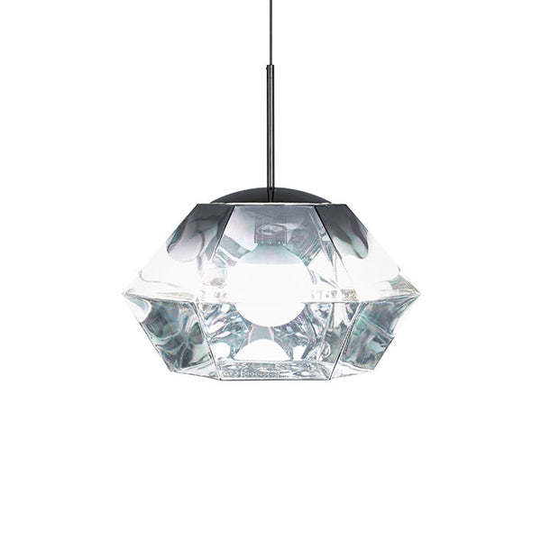Tom Dixon Cut Short Chrome Pendant Light