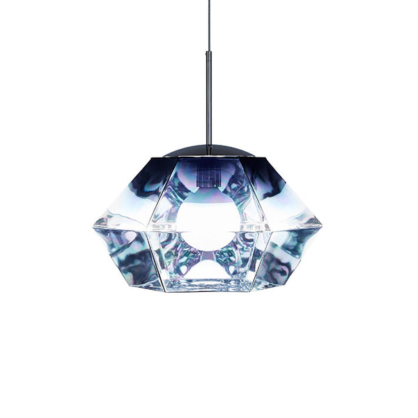 Tom Dixon Cut Short Smoke Pendant Light