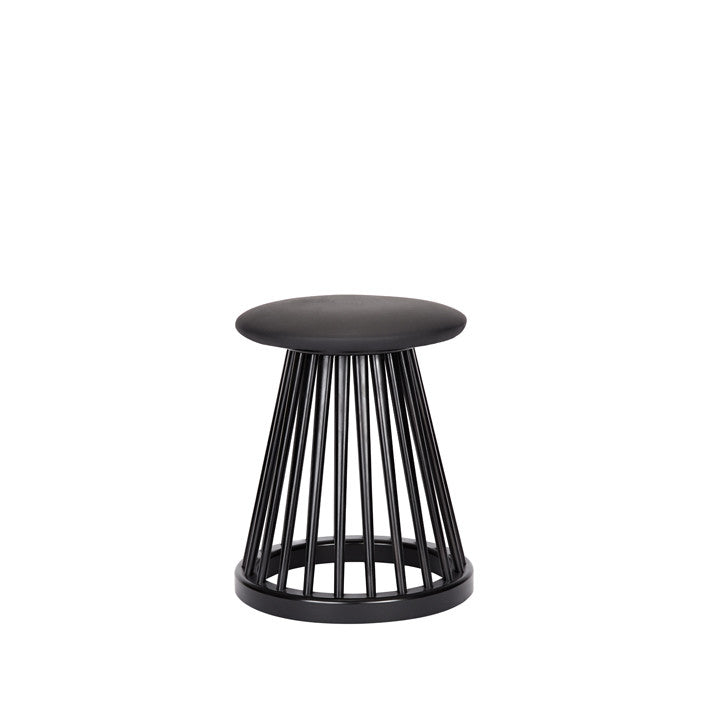 Tom Dixon Fan Stool Black, Chairs & Benches