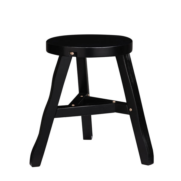 Offcut Stool Black