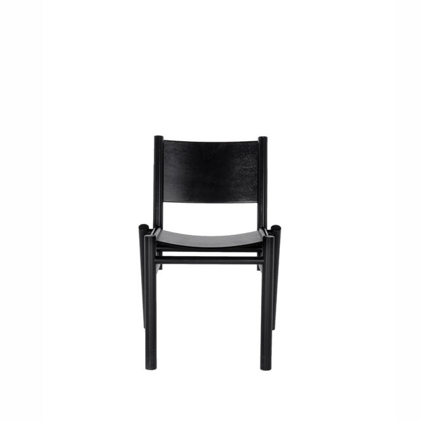 Peg Chair Black