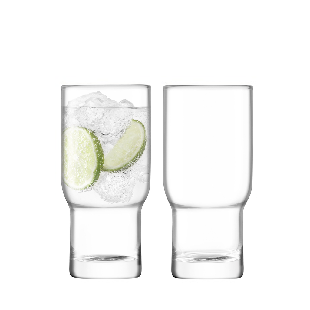 Utility highball x2 clear