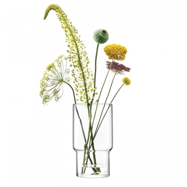 Utility vase 30cm clear