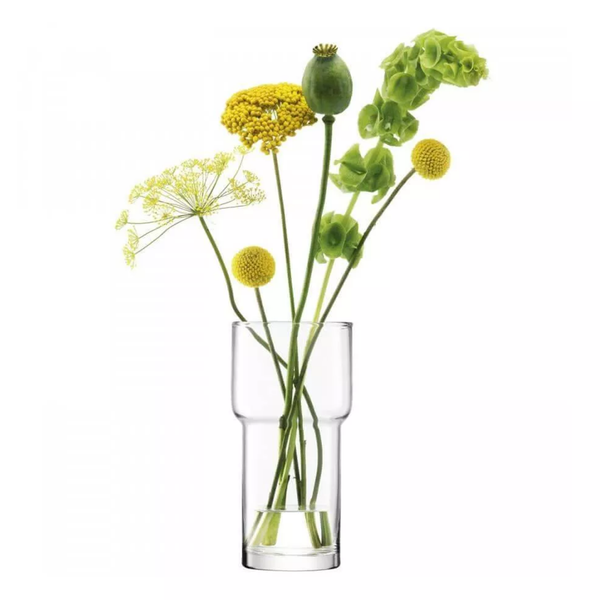 Utility vase 22cm Clear