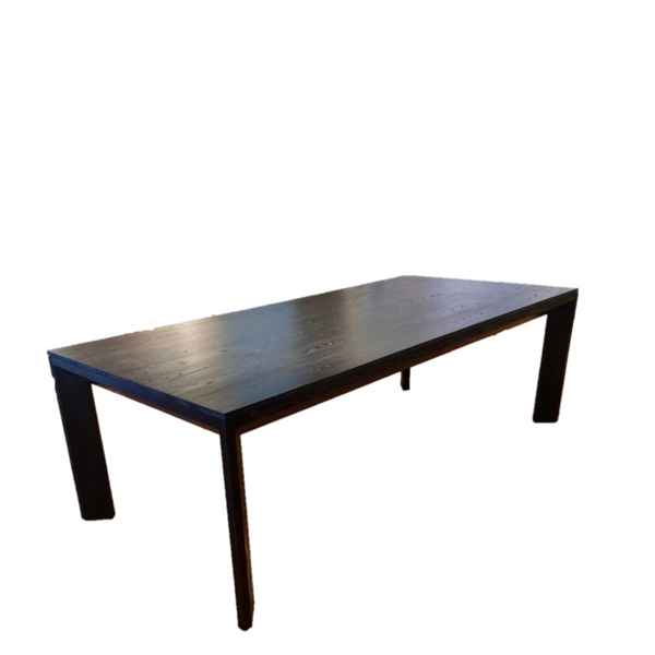 Tri-mitre dining table