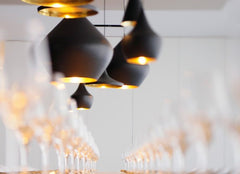 Tom Dixon Beat Stout Black, Lighting