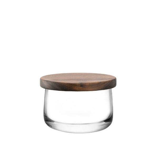 City Bowl & Walnut Lid 13cm