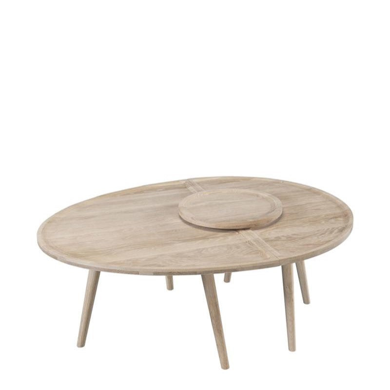 WeWood Colombo Oak Coffee Table, Tables & Desks