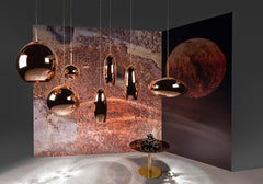 Tom Dixon Copper Pendant Tall, Lighting