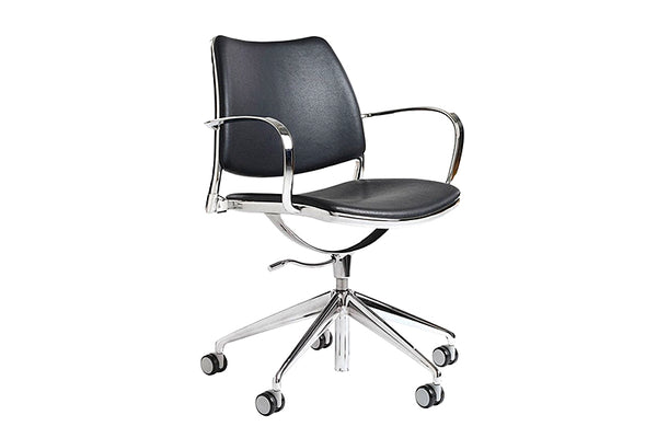 Gas task chair, black