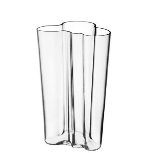 Aalto vase 201mm clear