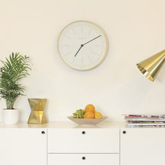 Newgate Mr Clarke Clock Pale Wood, Clocks