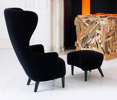 Tom Dixon Wingback Chair, Chairs & Benches