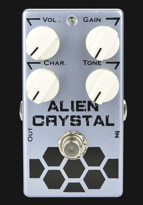 SKS Alien Crystal Overdrive Guitar Effect Pedal