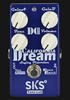 SKS Dream California II American Distortion Guitar Effect Pedal