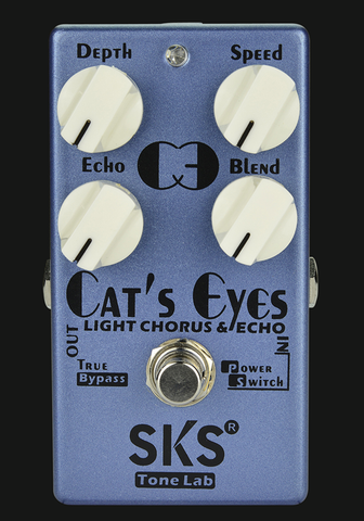 SKS Cat's Eyes Chorus Guitar Effect Pedal