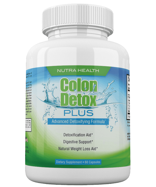 Colon Detox Plus - Advanced Detoxifying Formula & Weight Loss Support