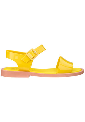 Melissa Mar Sandal (Brown / Yellow) - MDreams Malaysia