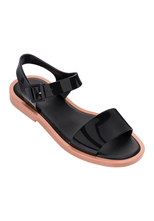 Melissa Mar Sandal (Brown / Black) - MDreams Malaysia
