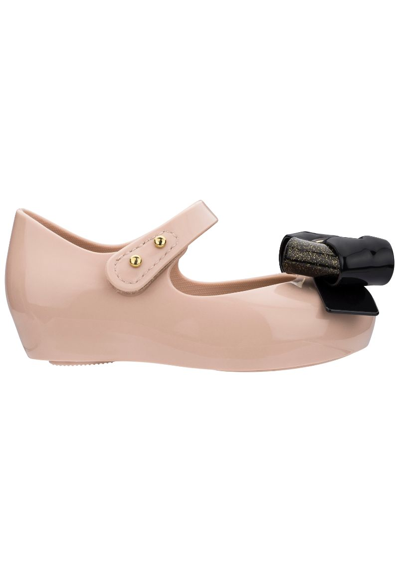 Mini Melissa Ultragirl Sweet V (Beige/Black)