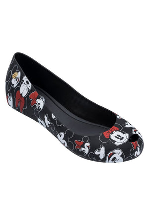 Melissa Ultragirl + Mickey (Black/White/Red) - MDreams Malaysia