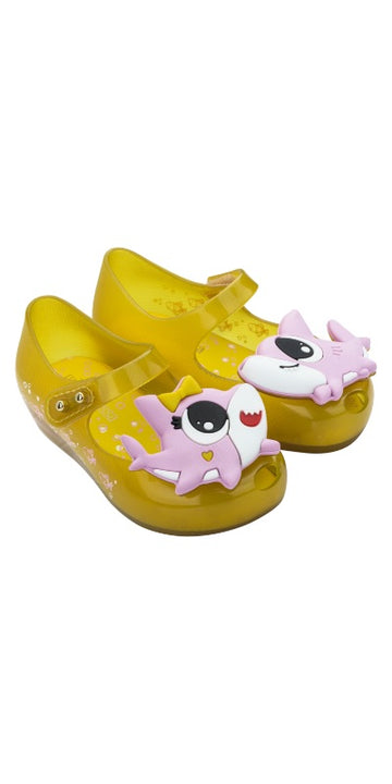 Mini Melissa Ultragirl Shark (Yellow Pink)