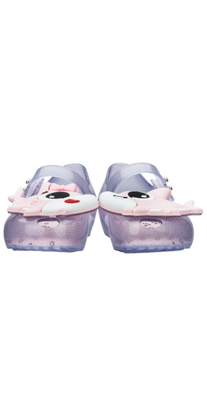 Mini Melissa Ultragirl Shark (Clear Glitter / Pink) - MDreams Malaysia
