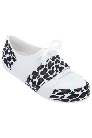 Melissa Crew Low (White Black)