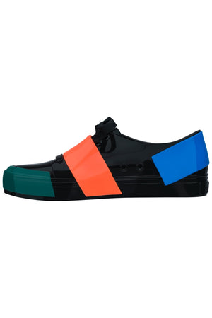 Melissa Crew Low (Black Blue Green)