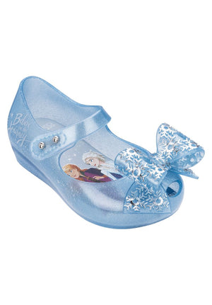 Mini Melissa Ultragirl + Frozen Bb (Pearl / Blue Glitter) - MDreams Malaysia