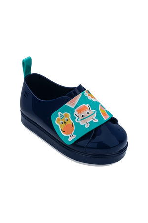 Mini Melissa Go Sneaker + Turma Do Pudim (Navy)