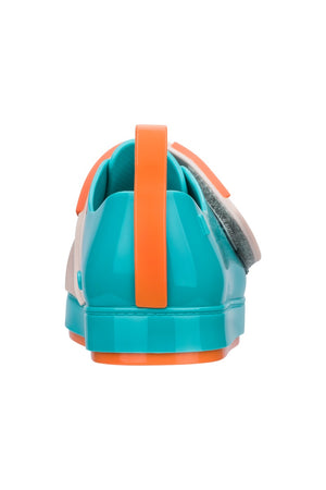 Mini Melissa Go Sneaker + Turma Do Pudim (Blue Pink Orange)