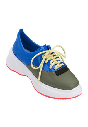 Melissa Ugly Sneaker (Blue/Green) - MDreams Malaysia