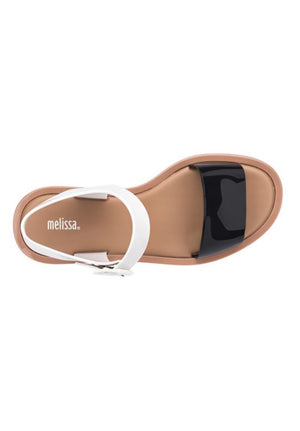 Melissa Mar Sandal (White/Brown) - MDreams Malaysia