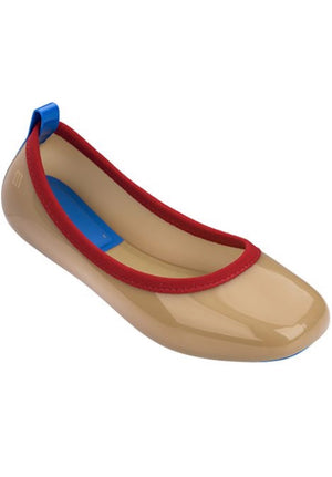 Melissa Lance (Beige/Red) - MDreams Malaysia