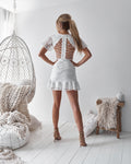 ALEXIA Dress (White) - Drop Dead Dollbaby