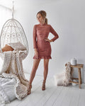 RIVERDALE Dress - Mauve - Drop Dead Dollbaby