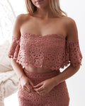 CELINE Lace Set - Mauve - Drop Dead Dollbaby