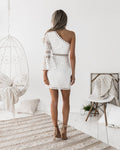ELYSIAN TOGA Dress (White)