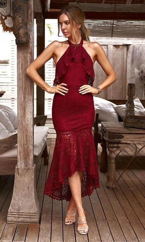 JANELLE Dress (Red)