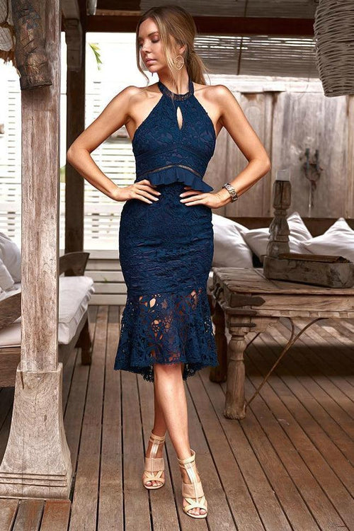 MADISON Dress (Navy)