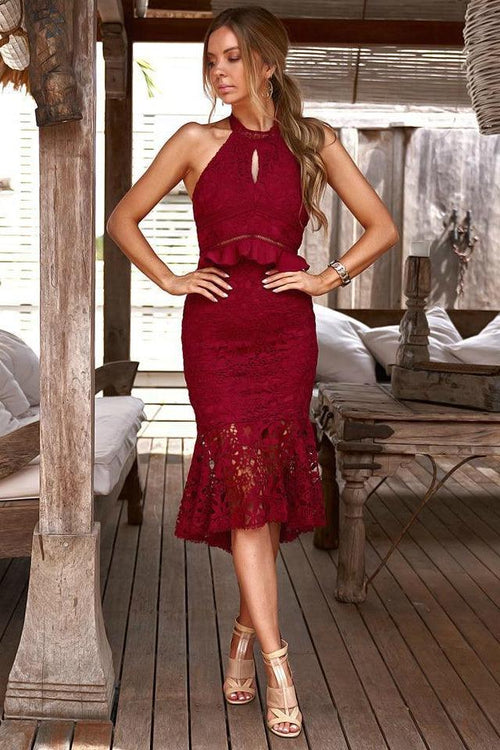MADISON Dress (Red)