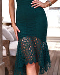 GISELLE Dress - Emerald - Drop Dead Dollbaby