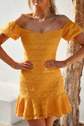 GABRIELLA Dress - Yellow - Drop Dead Dollbaby
