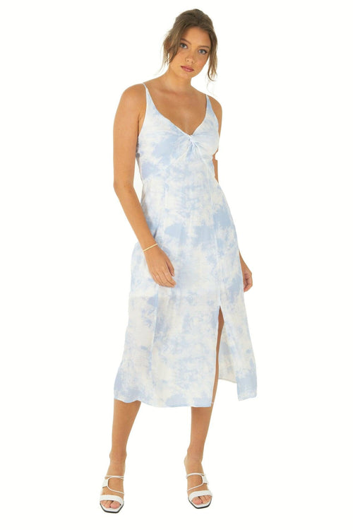 SIBONEY Dress - Blue - Drop Dead Dollbaby