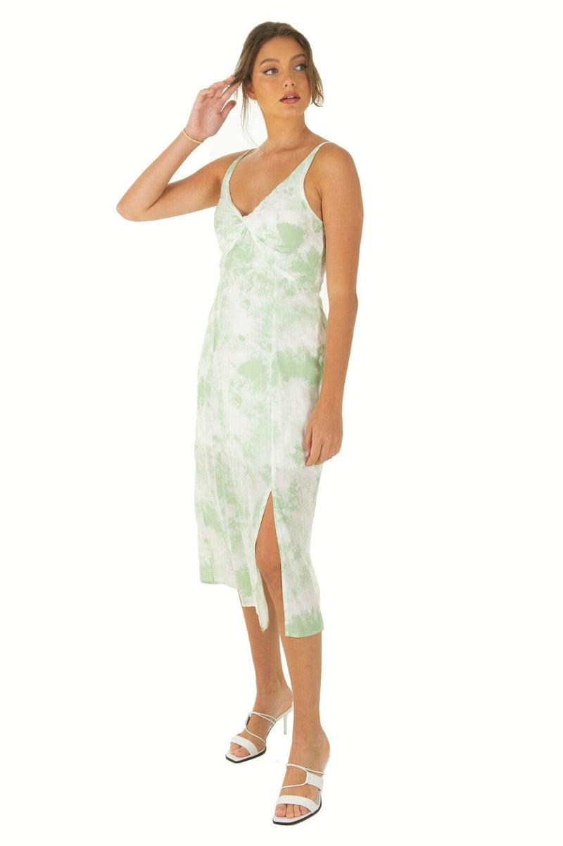 SIBONEY Dress - Green - Drop Dead Dollbaby