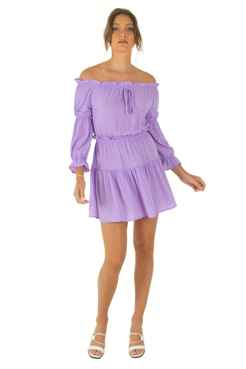 BELLE Dress - Lilac - Drop Dead Dollbaby