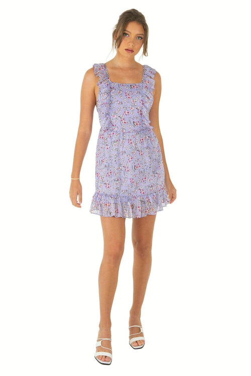 KELLY Dress - Lilac - Drop Dead Dollbaby