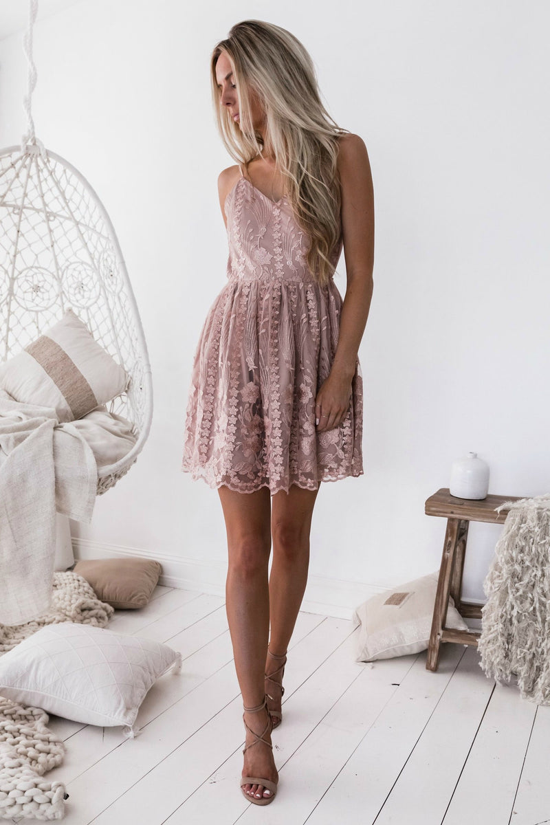 CLARA Dress - Pink - Drop Dead Dollbaby