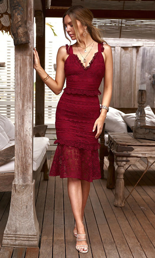 CORDELIA Dress (Red)